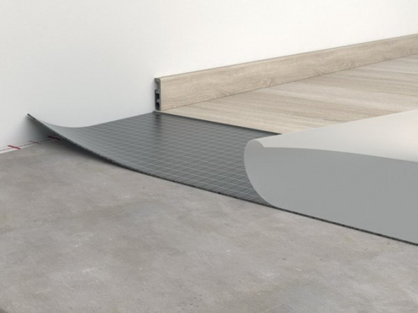 VinFloors Selbstklebende Unterlagsmatte Vinlay Rapid für Vinyl (6,5 m²/Rolle)