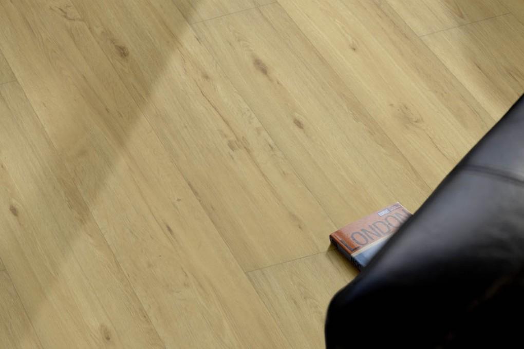 VinFloors Vinylboden LOCK 5,0 mm Eiche natur Landhausdiele