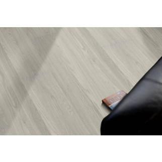 VinFloors Vinylboden LOCK 5,0 mm Eiche silber Landhausdiele